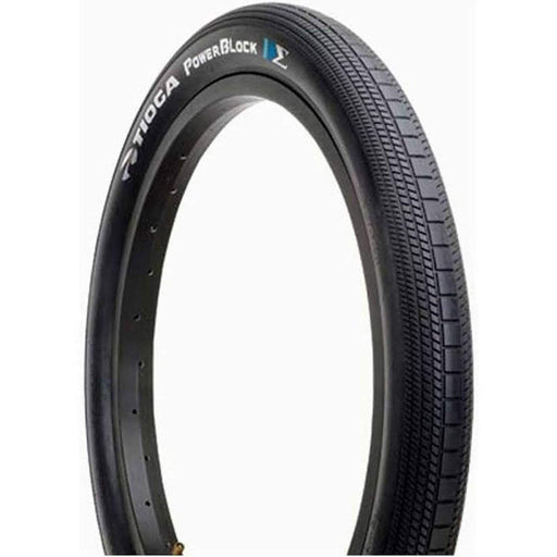 "PowerBlock 24 x 1.75"" Wire Bead BMX Race Bike Tire"