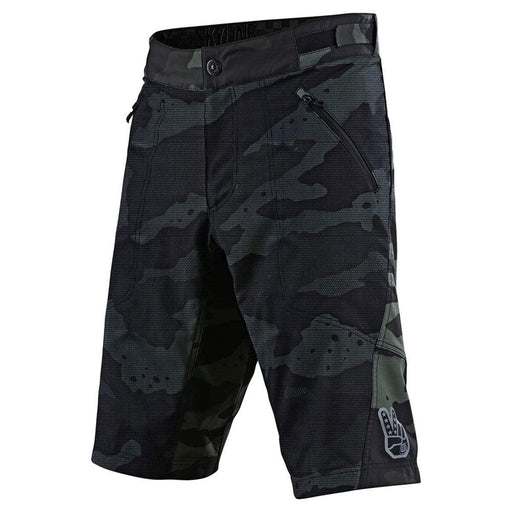 Troy Lee Men's Skyline Mountain Bike Shorts with Liner - Green Camo