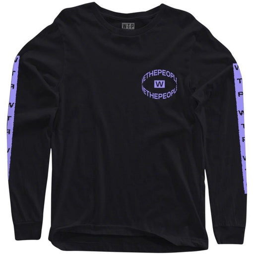 We The People Saturn Long Sleeve T-Shirt - Black