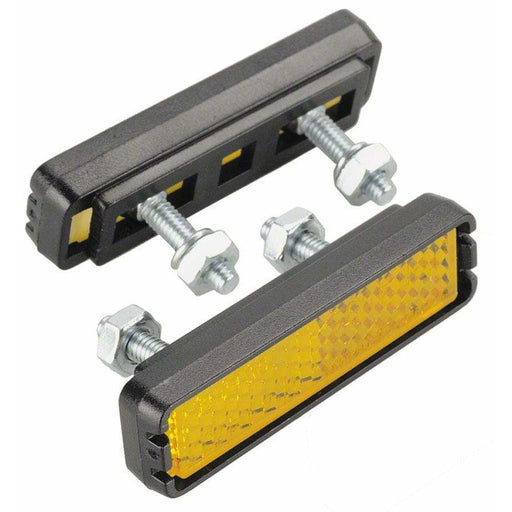 Wellgo Bolt-on Bike Pedal Reflector Set