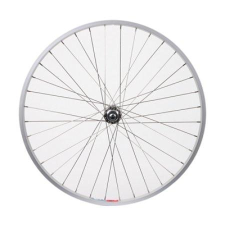 Rear Wheel 26x1.5 Alloy Silver B/O Silver 5/7s 36SS
