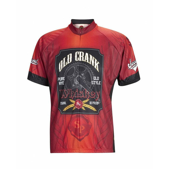 Men's Old Crank Road Bike Jersey