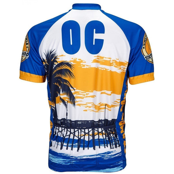 Men's Orange County Cycling Road Jersey