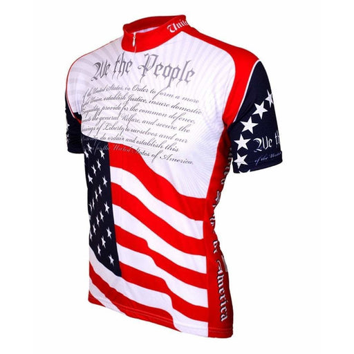 Men's US Constitution Road Bike Jersey