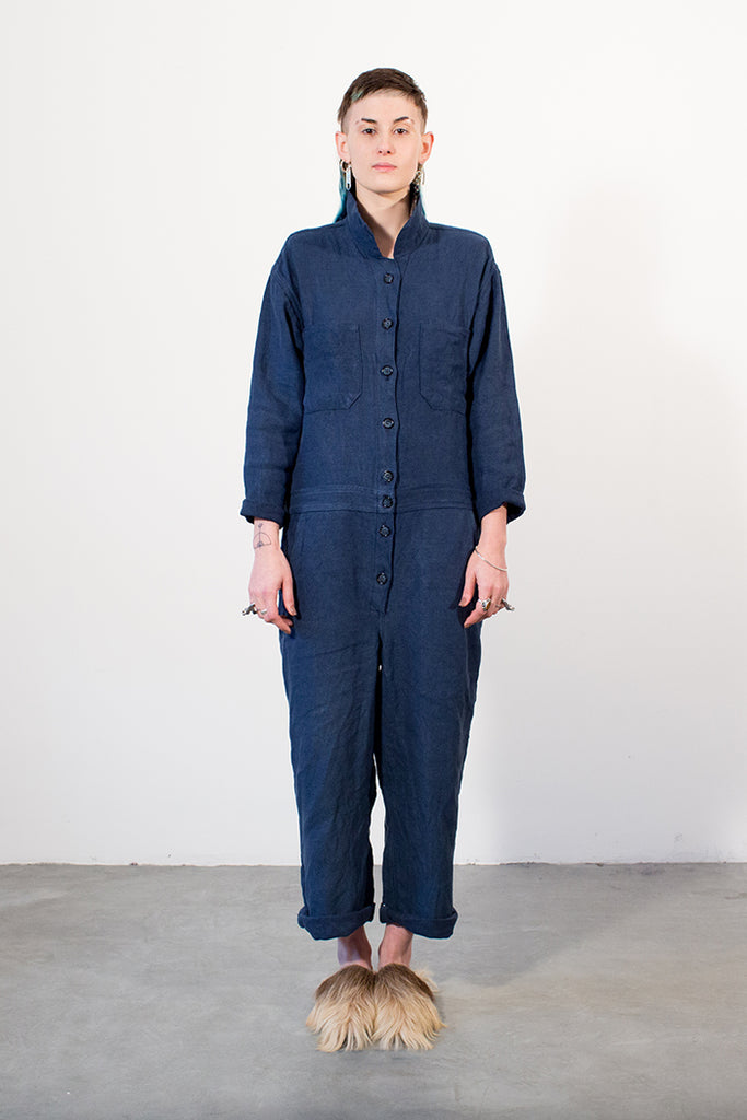 Linen Workwear Boilersuit