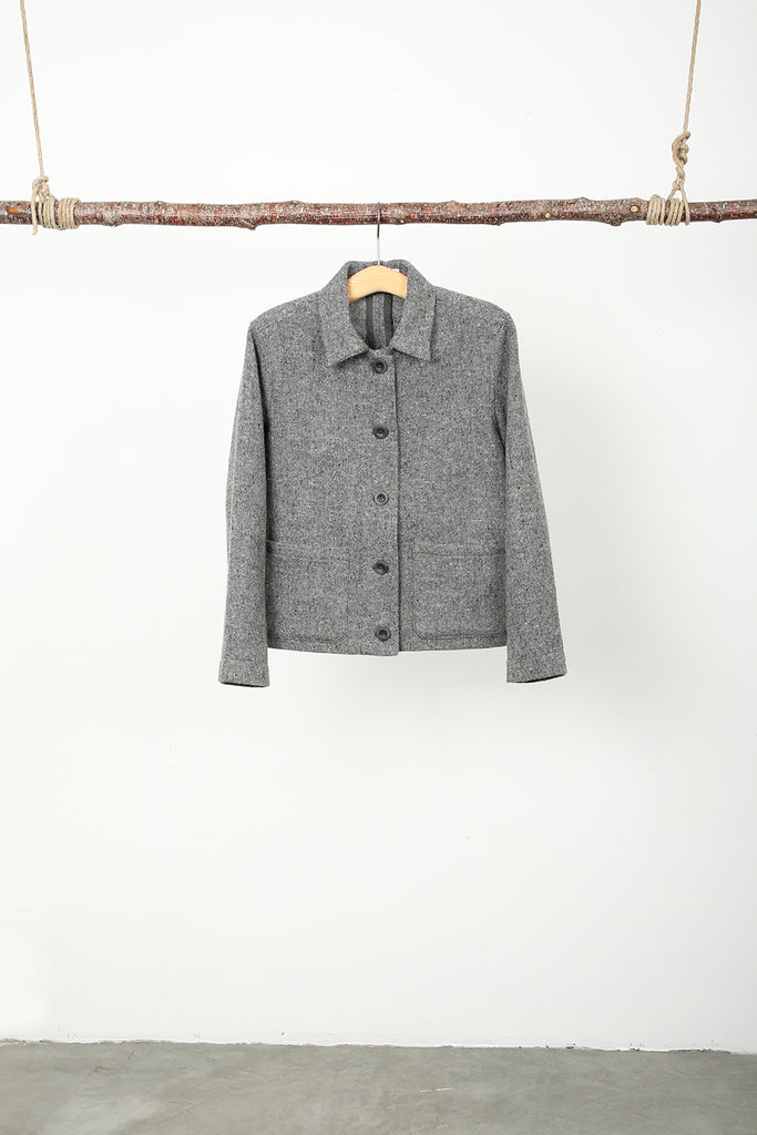 workwear tweed jacket