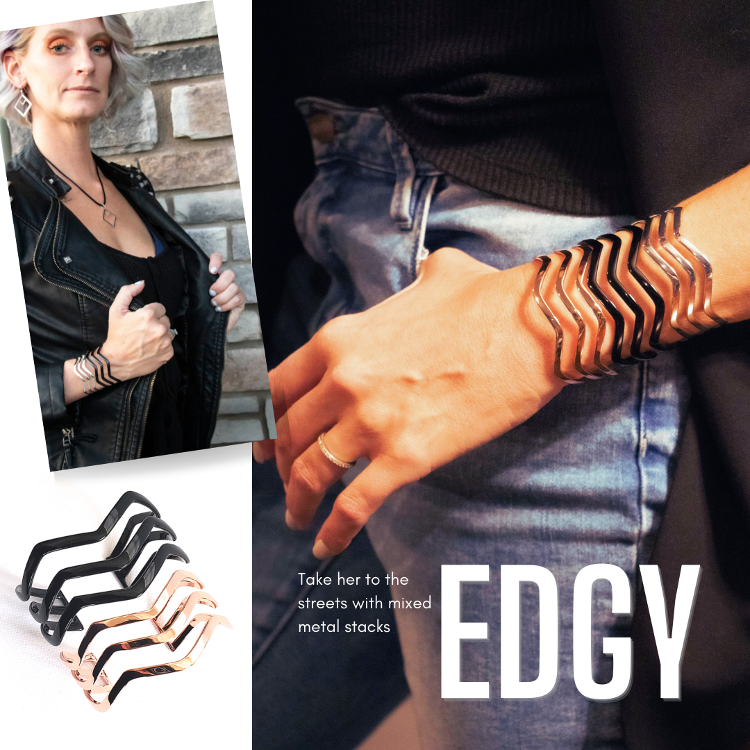 Take her to the streets with mixed metal stacks