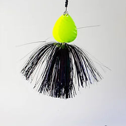 ELECTRIC BLACK CHARTREUSE BLADES