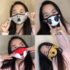Animal Style Fun Kid's 2-Layered Masks (Pack of 4)