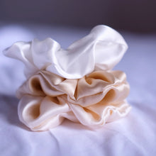 Load image SILK SCRUNCHIES; many color variants