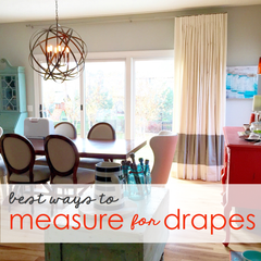 measuring for draperies