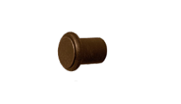 Button End Cap Finial