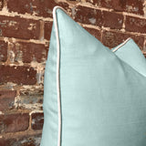 Robin's Egg Linen Pillow