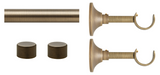 6ft Hardware Set - Metal (2 finish options)