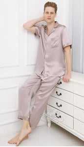 Cool summer silkworm for short sleeves pyjamas