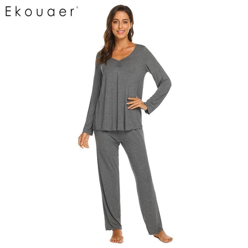 Autumn Winter Women Pajamas Sets