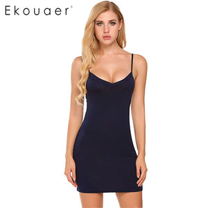 Home Bottoming Straight Dress size S-2XL Dresses Vestidos