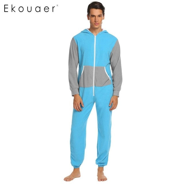 One-Piece Pajamas Sleepwear S-XXL