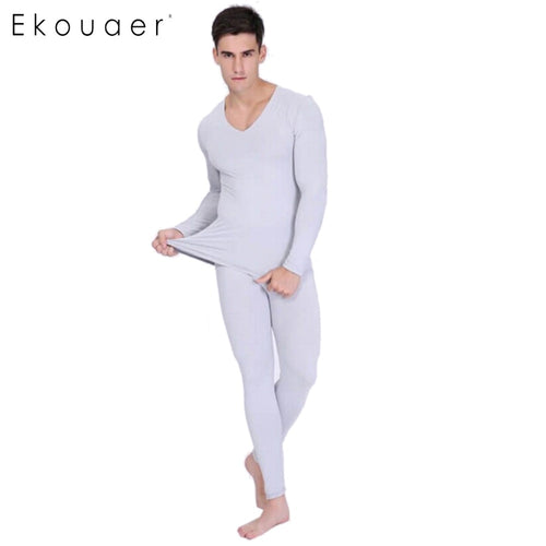 Two Pieces Set Warm Slim Thermal Underwear