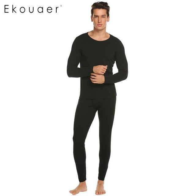 Autumn Winter Male Warm Long Johns S-XXXL