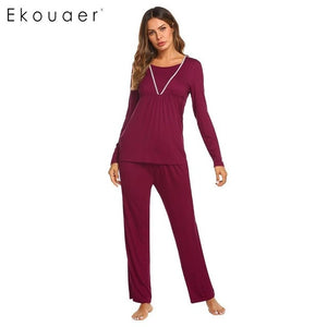 Sleepwear Warm Autumn Winter Pyjamas