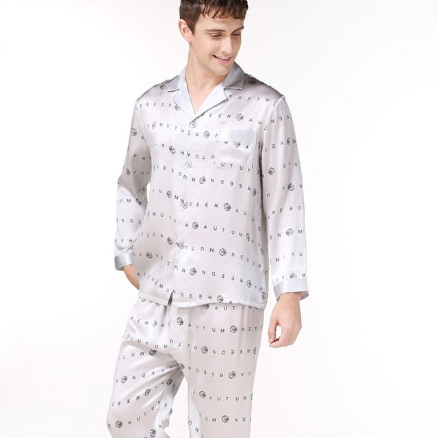 Simple elegant pajamas for men