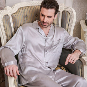 High Quality 100% Natural Silk Pajama Pants Sets