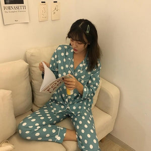 Pajamas for Women Pajamas Set Cartoon Sleepwear Casual - PJS.Cool