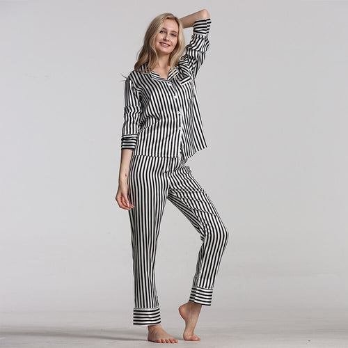 Pajamas For Women Pajamas Set Cartoon Pyjamas Suit Cute Sleepwear Casual - PJS.Cool