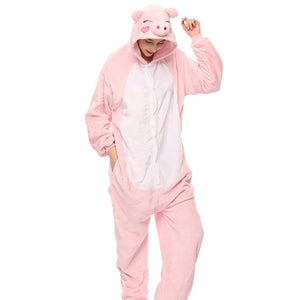Animal pajama sets Unisex Cosplay Pig pyjamas Sleepwear - PJS.Cool
