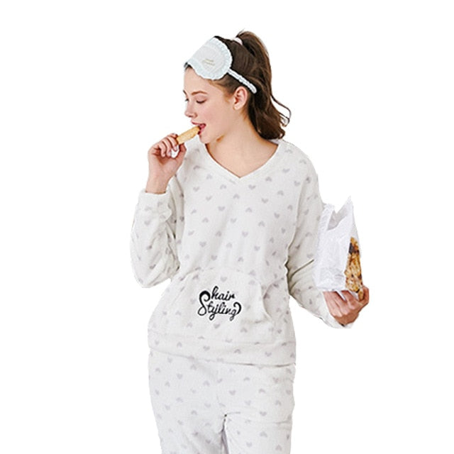 Women Pajamas Sets Sleepwear Cute Cartoon Pyjama Homewear - PJS.Cool