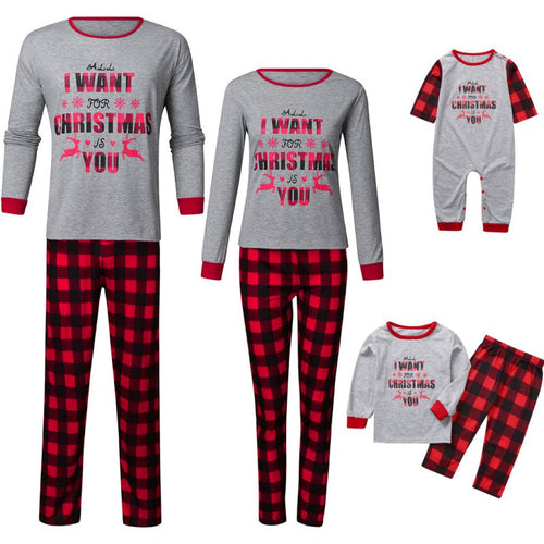 Cotton pajamas Family Pajamas Set pyjamas kids Sleepwear - PJS.Cool
