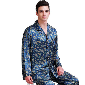 Silk Pajamas Set Pyjamas PJS Sleepwear Set Loungewear - PJS.Cool