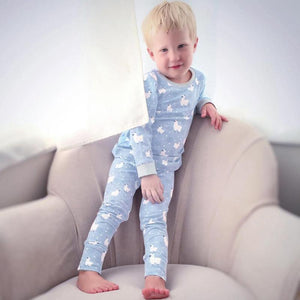 Cartoon Sheep kids pajamas sleepwear baby pajamas sets - PJS.Cool