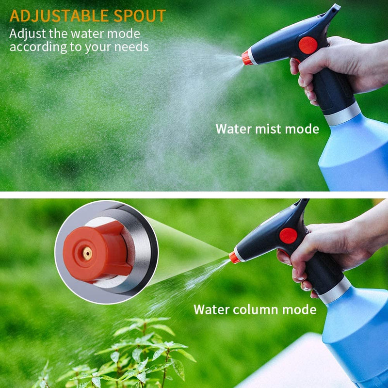 Automatic Electric Sprayer, 1L Bottle - For Disinfectant, Water, Cleaning Solution - TheBuyersClub.ca