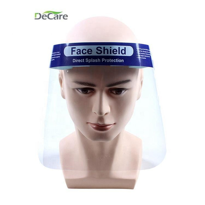 DeCare Medical Grade Non-viral Splash Prevention Work Safety Face Shield
