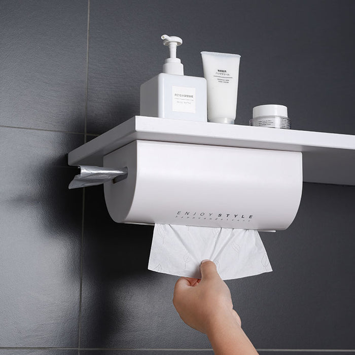 Wall Mounted Plastic Napkin Storage Dispenser