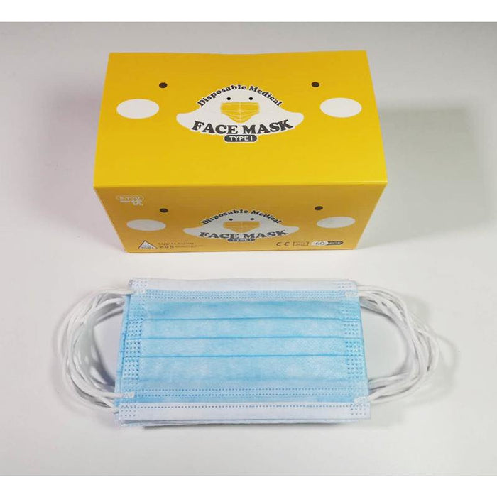 E-You Disposable Kids-size medical face mask (50pc/box)