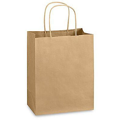 "Eco-friendly Paper Bags - 14 x 15.7 x 7.1"" - For Grocery Shopping and Restaurant Food Takeout - TheBuyersClub.ca"