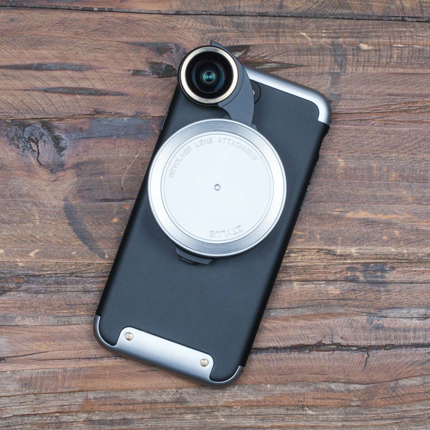 Revolver Lens Kit for iPhone 7 - Silver Edition