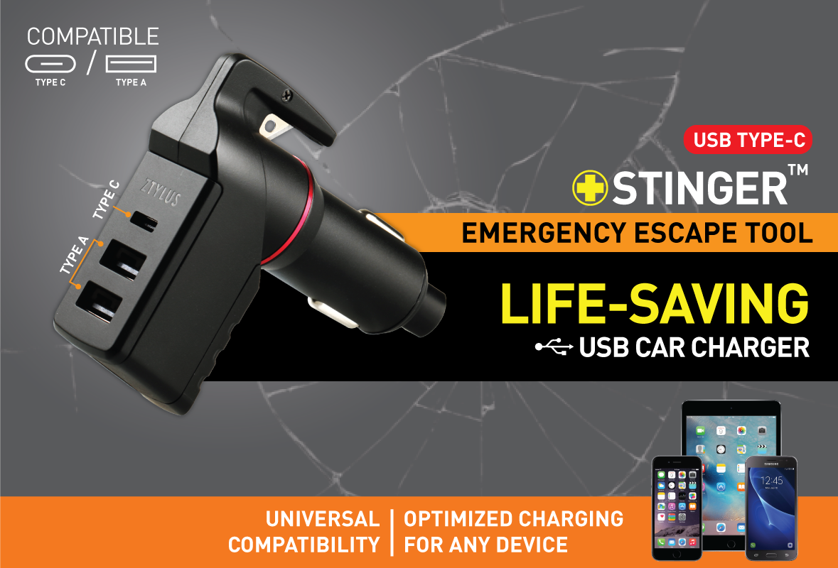 ZTYLUS STINGER EMERGENCY ESCAPE TOOL: A LIFE-SAVING INNOVATION