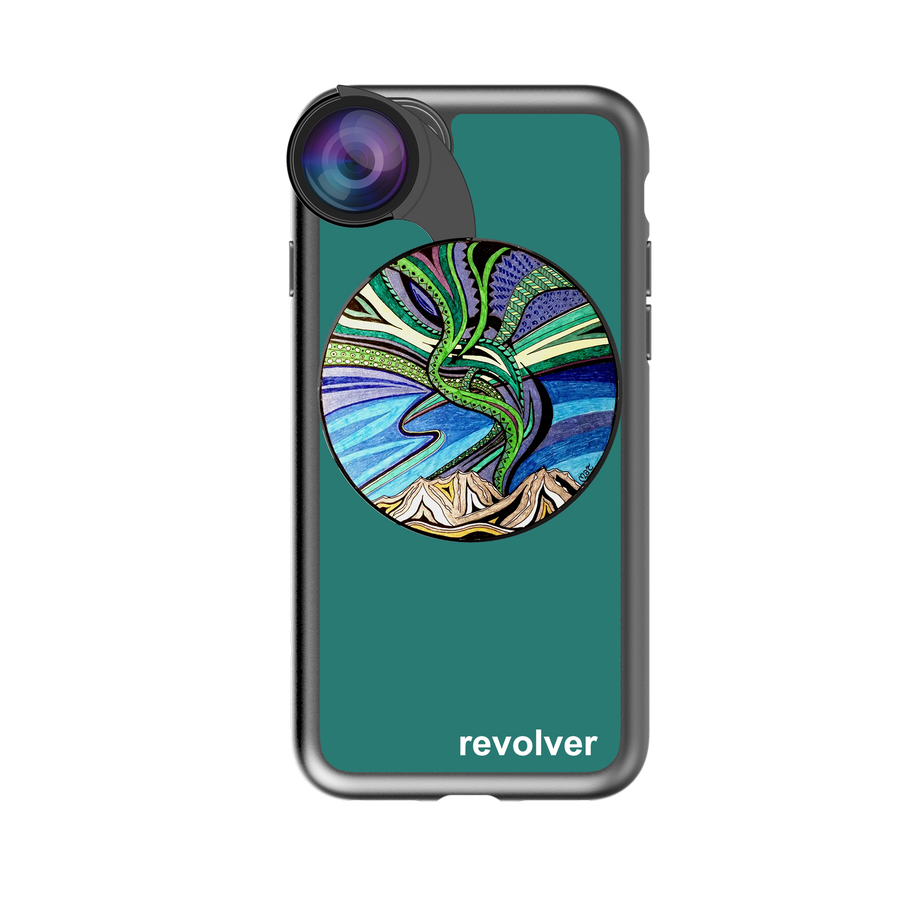 iPhone 7 / 8 Revolver M Series Lens Kit - Aurora Borealis