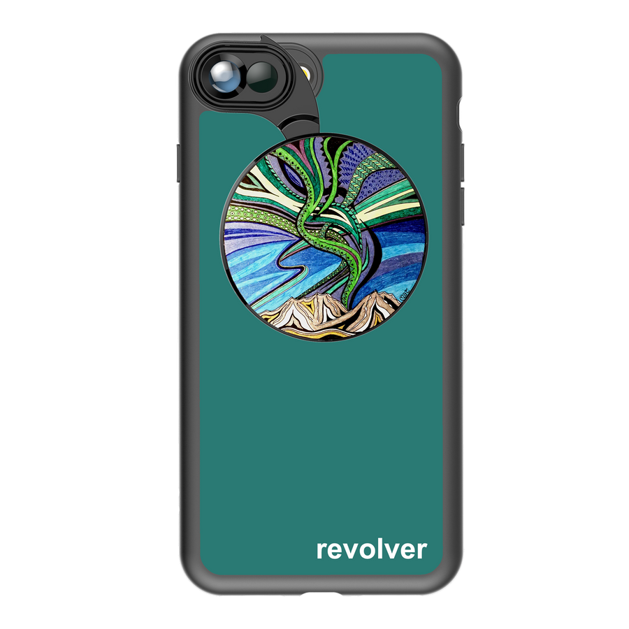 iPhone 7 Plus / 8 Plus Revolver M Series Lens Kit - Aurora Borealis