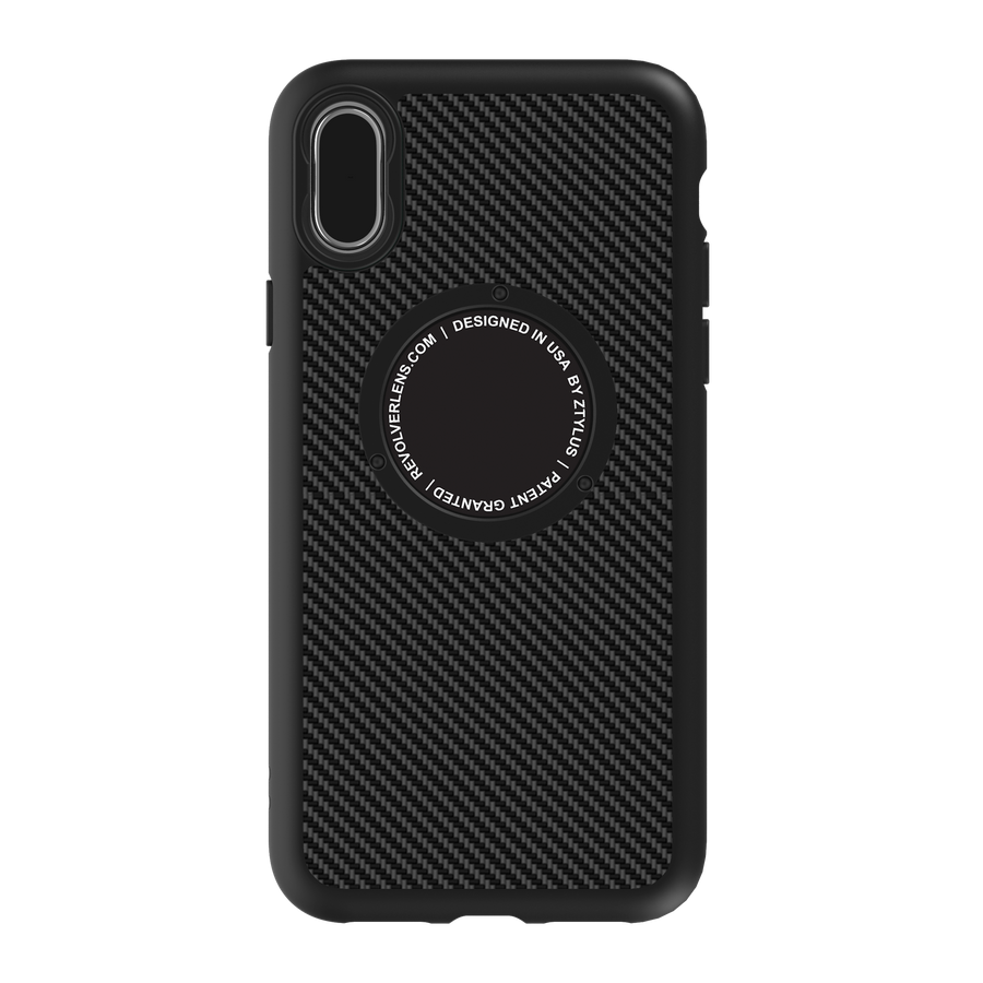Revolver M Series Case - Black Carbon Fiber