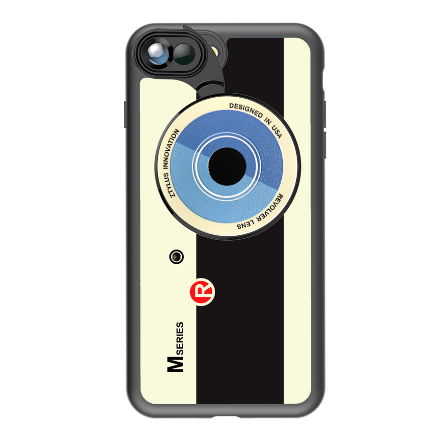 iPhone 7 Plus / 8 Plus Revolver M Series Lens Kit - Retro Camera
