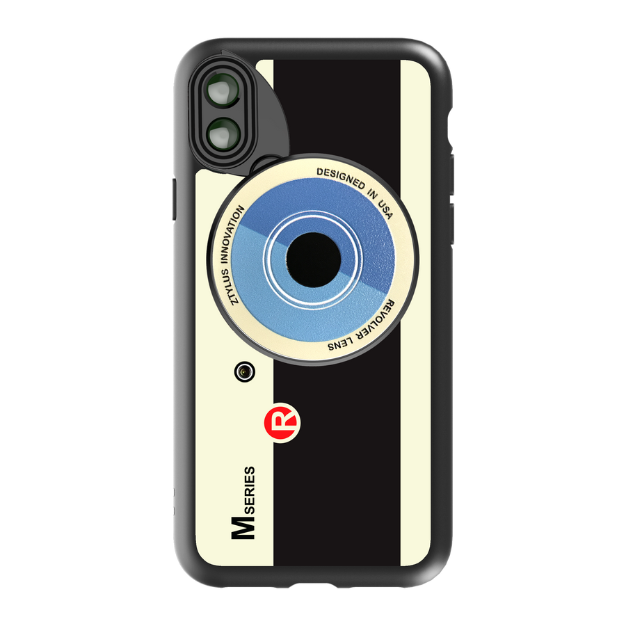 iPhone X / XS Revolver M Series Lens Kit - Retro Camera