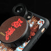 iPhone 7 Plus / 8 Plus Revolver M Series Lens Kit - Kung Hei Fat Choi (Dark Red)