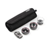 Z-Prime Universal MK II 3 + 1 Lens Kit (Telephoto, Wide Angle and Macro Lens + Lens Adapter)