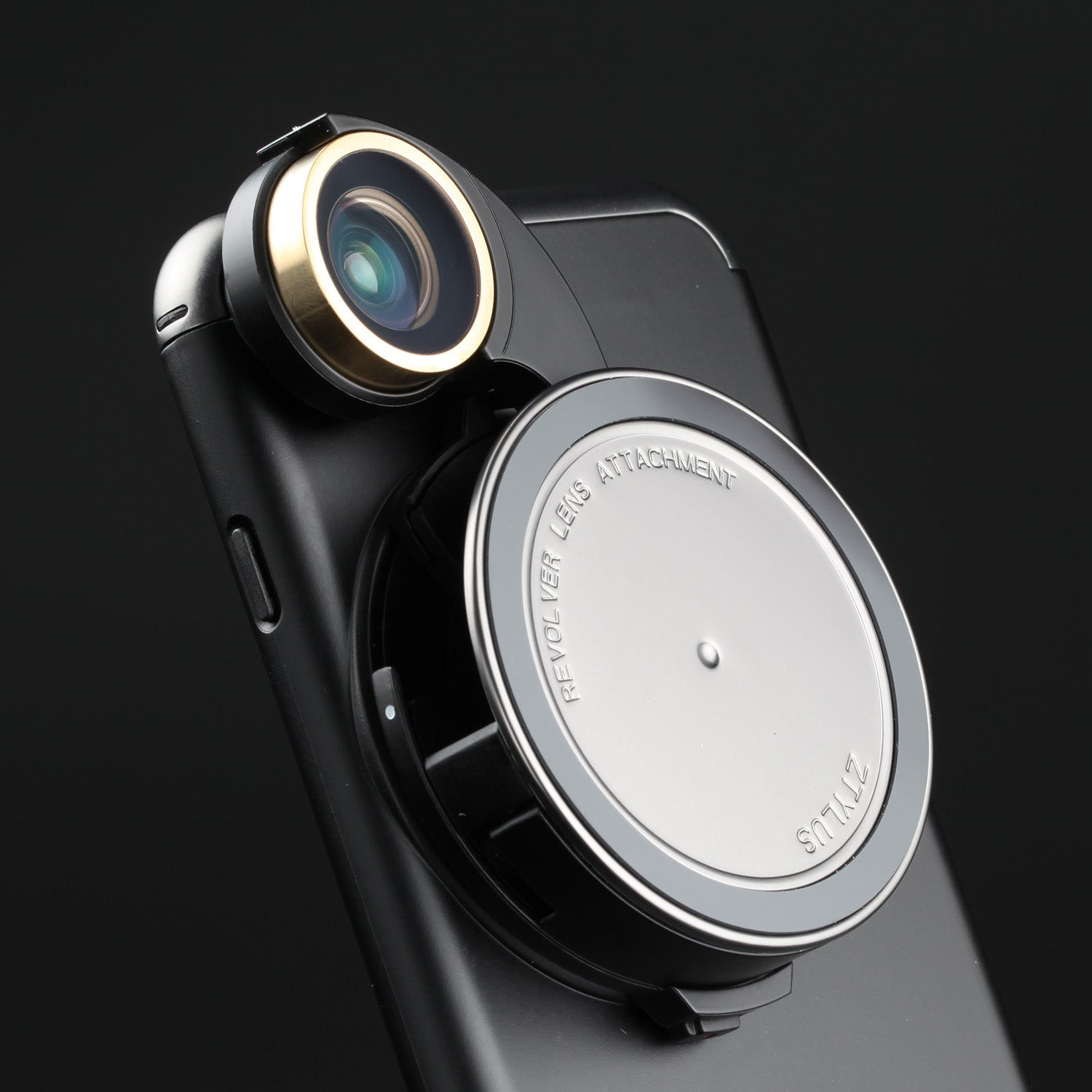 check out a7ea8 9c400 Revolver Lens Camera Kit for iPhone 8 / 7 - Gunmetal Edition