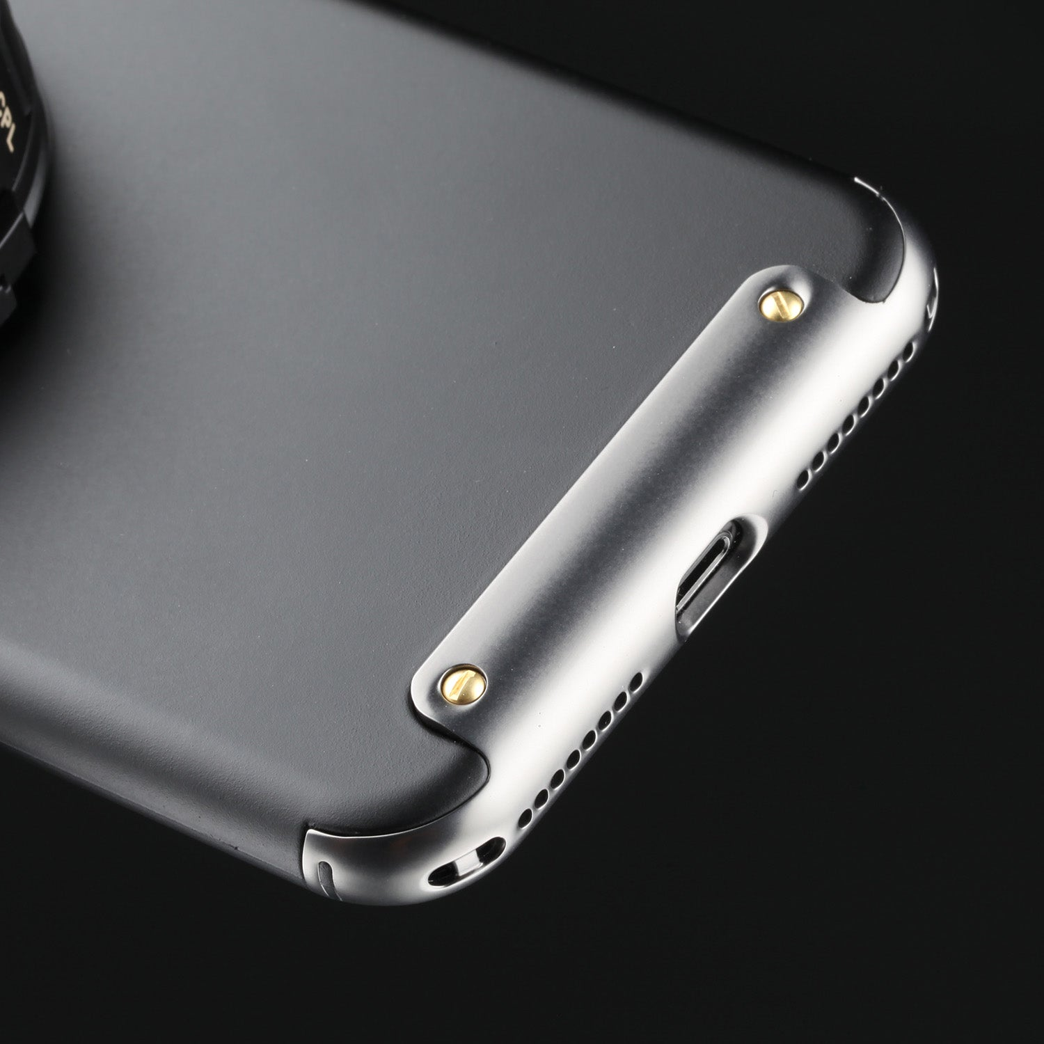 lowest price e73ee a2b81 Revolver Lens Camera Kit for iPhone 8 Plus / 7 Plus- Gunmetal Edition